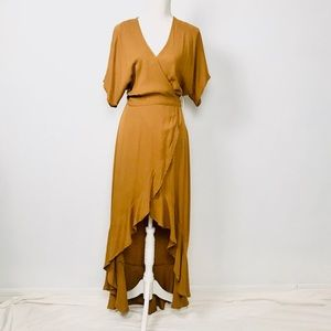 YFB High On The Road Vicky Wrap Maxi Dress